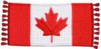 Tapis crocheté au Canada